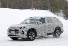 Audi Q9 впервые заметили на тестах