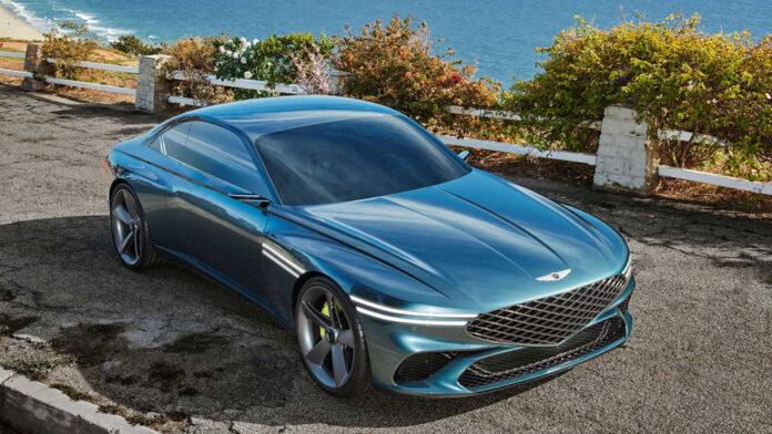 Genesis представил электрическое спорткупе X Concept