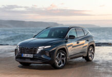 До Украины добрался гибридный Hyundai Tucson