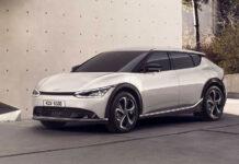 Kia показала свой новый электромобиль EV6