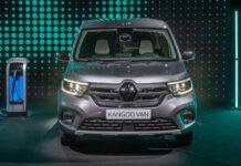 Renault представила новый электрический фургон Kangoo