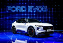 Ford представил новый гибридный кроссовер Evos
