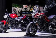 Honda презентувала новий байк CB400 в двох версіях