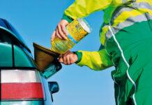 Спирт вместо бензина