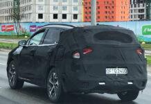 В Києві сфотографували прототип нового Kia Sportage
