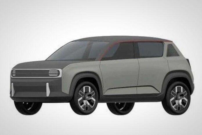 Зовнішність відродженого Renault 4 показали на патентних малюнках