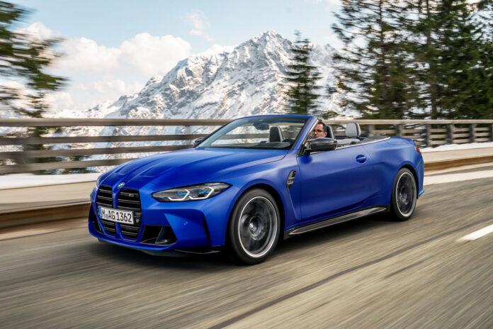 BMW презентувала повноприводний кабріолет M4 Competition