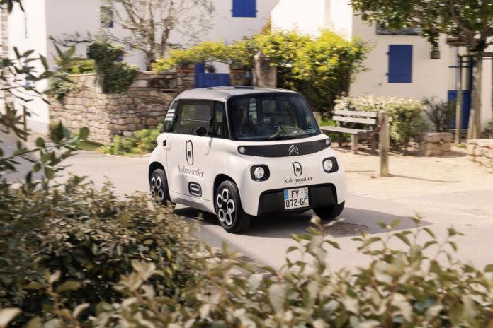 Citroen зробив електричну мікровантажівку для міста