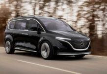 Mercedes-Benz представив передсерійний електричний компактвен EQT