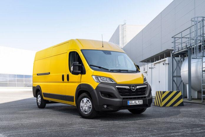 Opel презентував нові фургони Movano і Movano-e