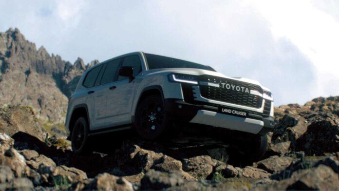 Toyota показала на відео позашляхові можливості нового Land Cruiser