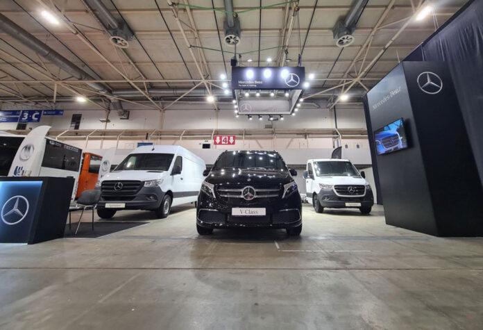 Mercedes-Benz показав на виставці ComAutoTrans 2021 свої автомобілі для бізнесу