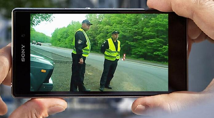 Чи має право водій знімати на відео працівника поліції?
