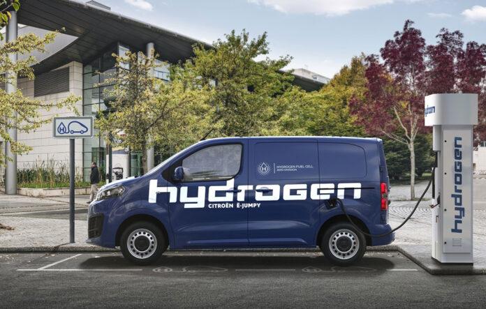 Citroen представив воднево-електричний фургон e-Jumpy Hydrogen