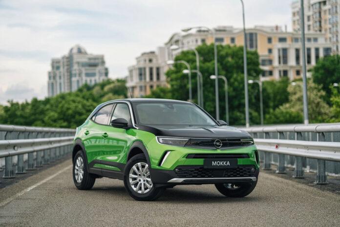 Новий кросовер Opel Mokka вже в українських автосалонах