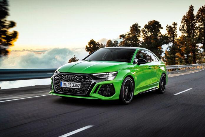 Audi представила седан і хетчбек RS3 нової генерації