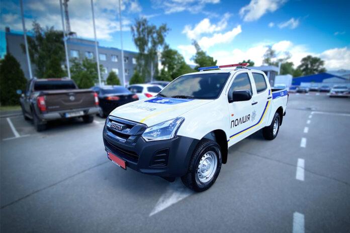 Українська поліція отримала партію пікапів Isuzu D-Max
