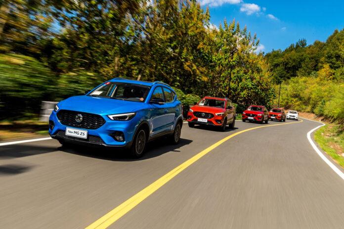 MG показав автомобілі, з якими буде підкорювати Україну