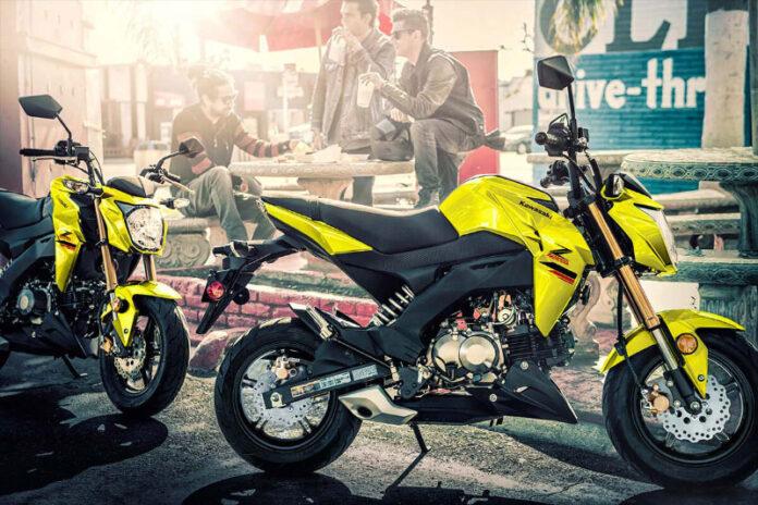 Kawasaki представила мінібайк Z125 Pro