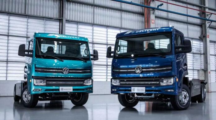 Volkswagen презентував електричну вантажівку