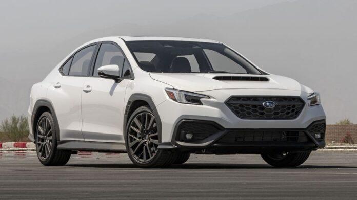 Subaru представила седан WRX нового покоління