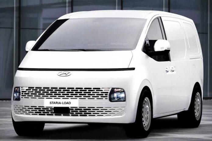 Hyundai підготував вантажну версію мінівена Staria